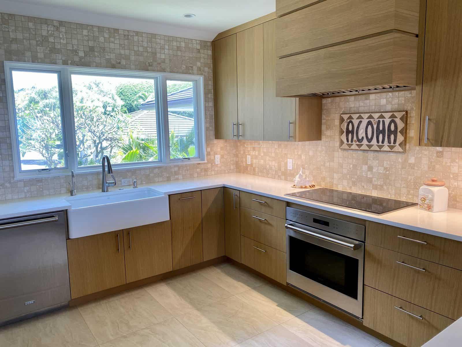 Kitchen Remodel 101 Crescent Custom Homes Maui Hi
